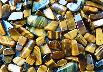 Plants, Crystals, Charms & Herbs that Bring Peace, Wealth and Abundance to your Life: Tiger's Eye Crystal Gem