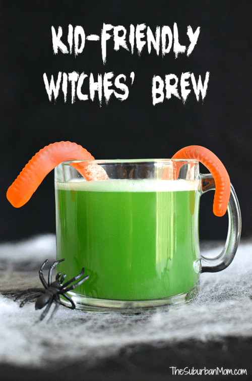 Kid-Friendly Witches' Brew Halloween Punch The Spookiest Halloween Drink Recipes Ever!