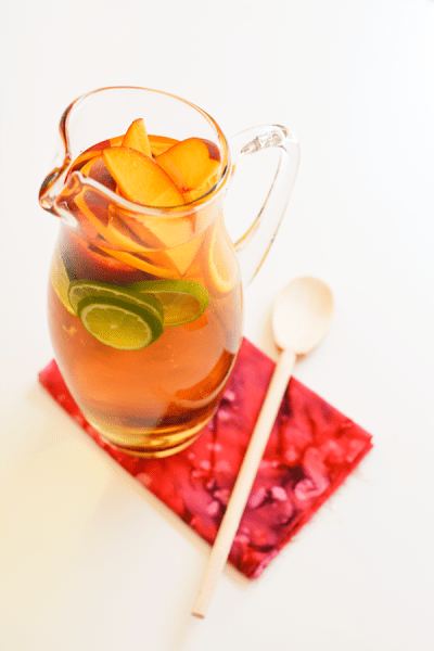 Non Alcoholic Sangria The Ultimate List of Holiday Cocktail & Mocktail Recipes. With over 50 recipes to choose from and constantly adding more, you will never be short of ideas! If you are hosting a Holiday Party or are enjoying a night in with a Hallmark movie, you are sure to find the right drink for the occasion in this post. Cheers!