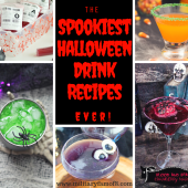 The Spookiest Halloween Drink Recipes Ever! Ultimate List of Holiday Cocktail & Mocktail Recipes & The Best 30 Mocktail Recipes Ever!