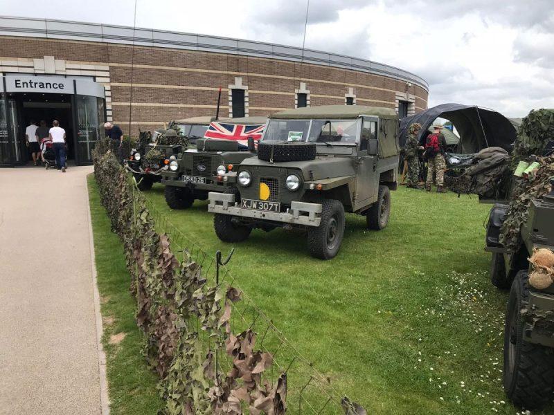 Gaydon Land Rover Show 2018