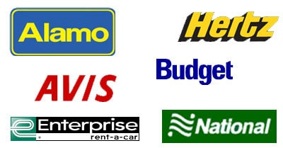 American car rental companies list 14