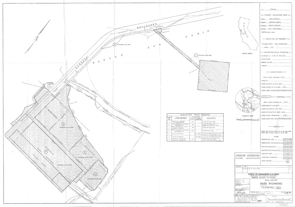 Parr Richmond Terminal Military Reservation