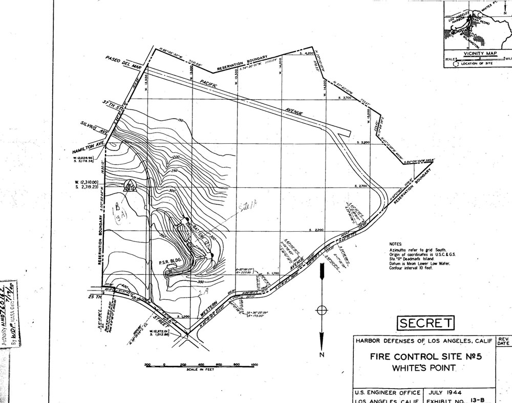 White Point Military Reservation (White Point Fire Control