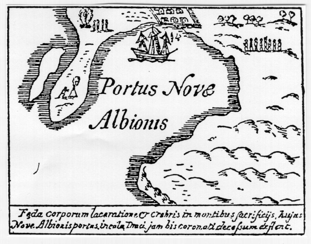 Sir Francis Drake in Central California, 1579