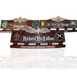 Military Desk Name Plates