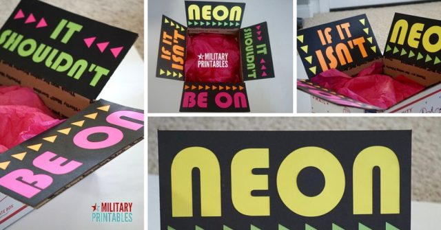 IF IT ISN'T NEON, it shouldn't be on Care Package Facebook (1)