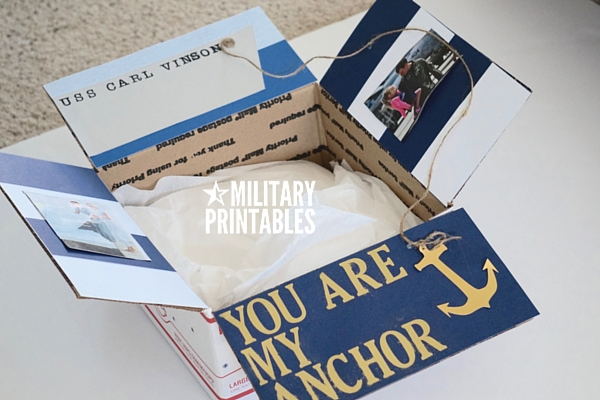 you are my anchor care package 2