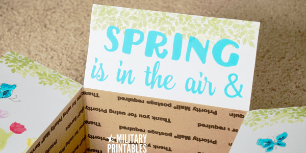 Spring is in the air and love is in bloom Package