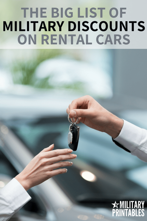 The Best Military Discounts For Car Rentals You Should Know About #militarydiscount #military #militarydiscounts #supportthetroops