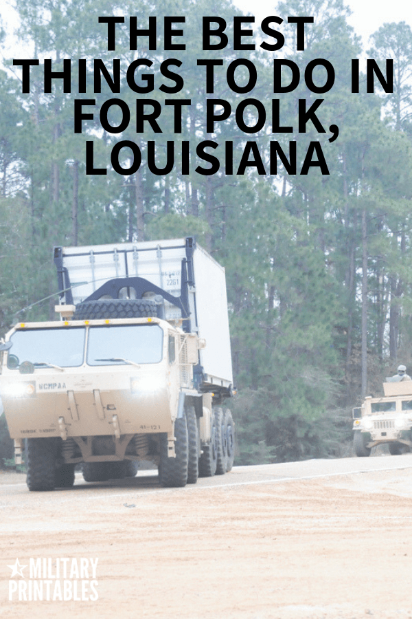 The Best Things To Do In Fort Polk Louisiana, #army #armylife #military #militarylife #pcs