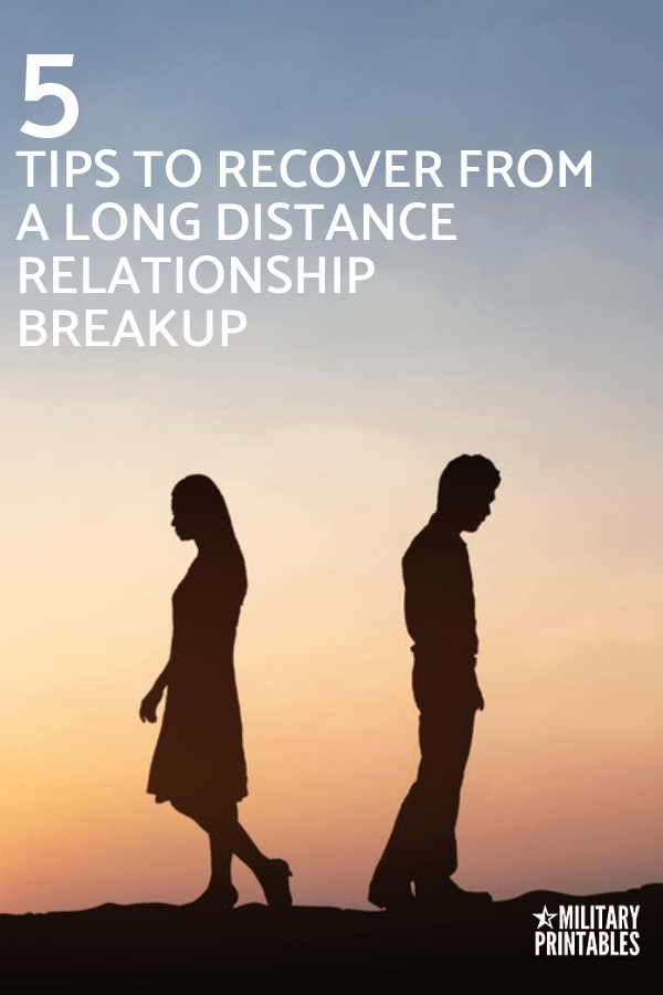 5 Tips To Recover From a Long Distance Relationship Breakup