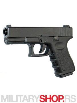 Replika pistolja Gun Full Metal BLOWBACK zeleni gas GGB-9905SM