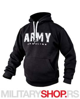 Crna dukserica sa kapuljačom ARMY Armoline