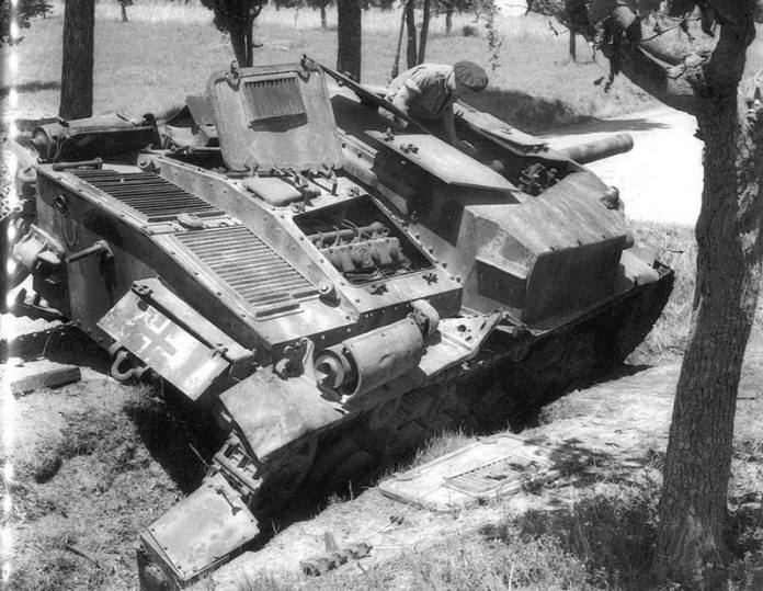 SM105 centro italia 1944