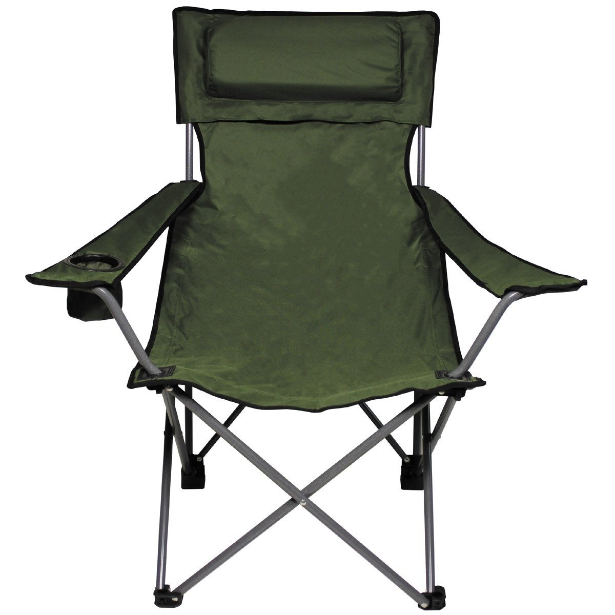banquet chair accessories leather waiting room chairs folding quotde lux quot green trekking  camping