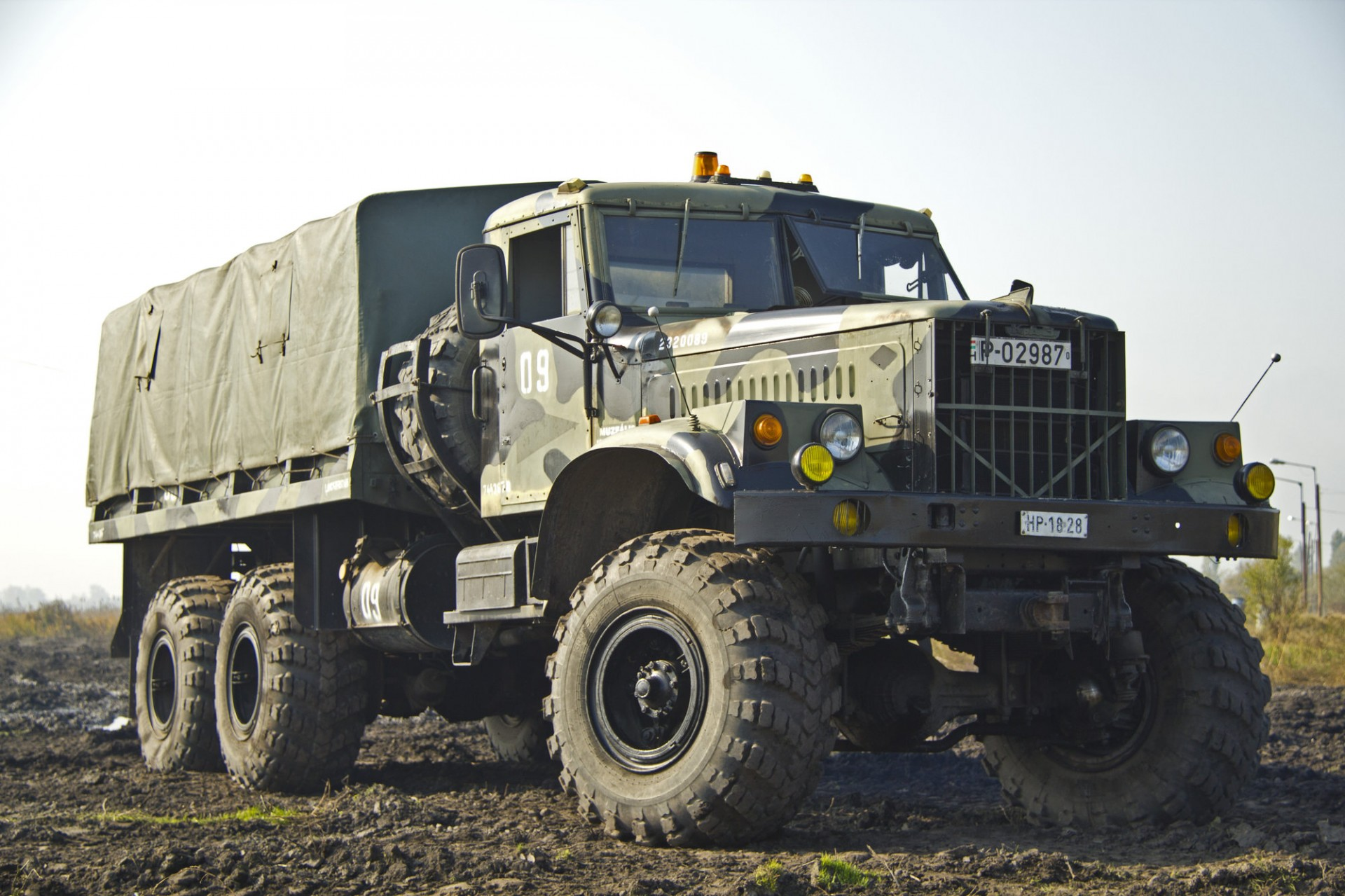 Military Technics Zil 131 Open Version