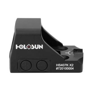 Holosun 407K-X2 Pistol Red Dot Sight Left Side