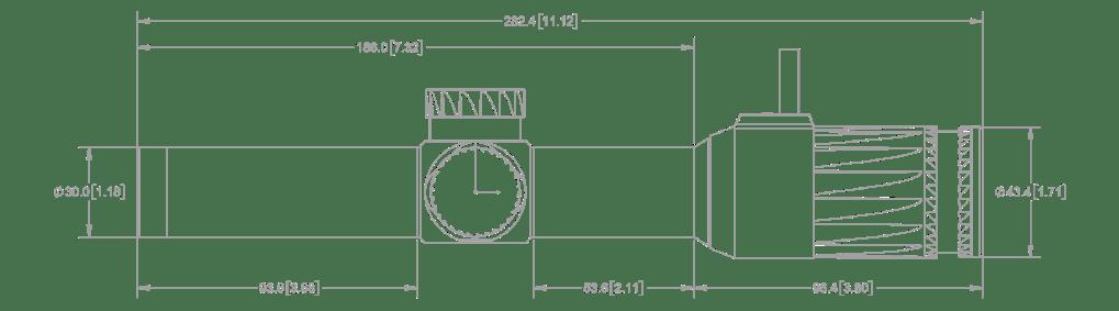 Vudu 1-8 Dimensions