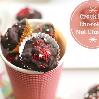 Crock Pot Chocolate Nut Clusters