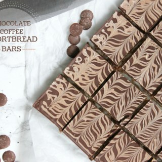 Chocolate Espresso Shortbread Bars