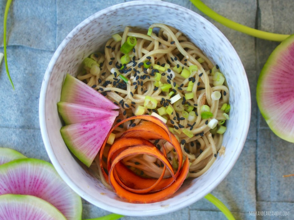 10 Minute Scallion Noodles (Peanut Free)