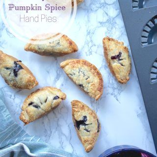 Blueberry Plum Pumpkin Spice Hand Pies