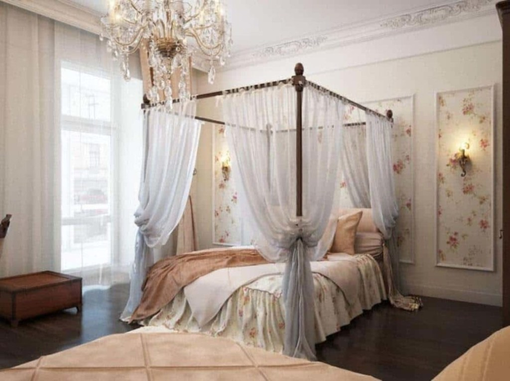 how to drape canopy beds step step with pictures