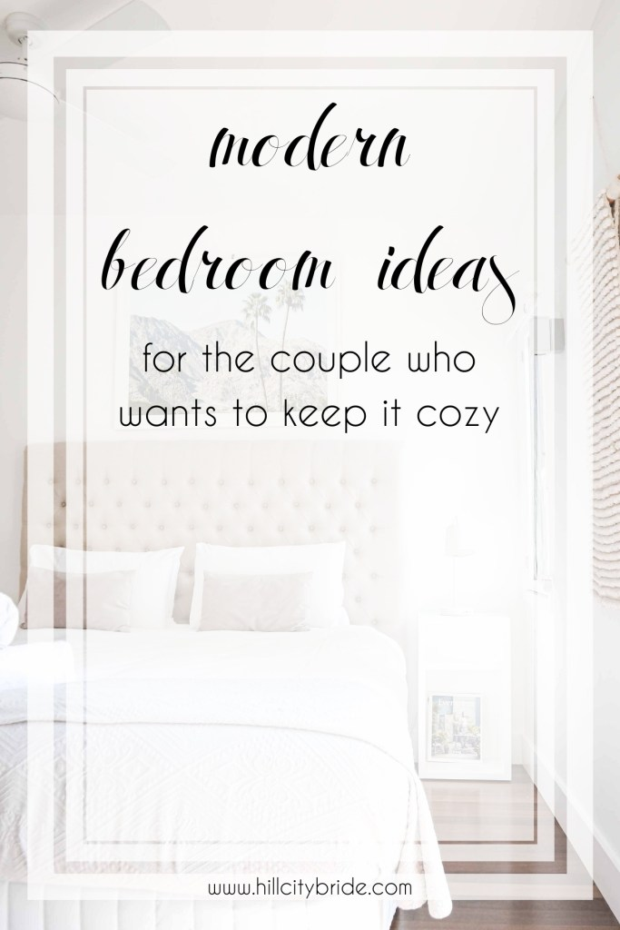 modern bedroom ideas for the couple who wants to keep it