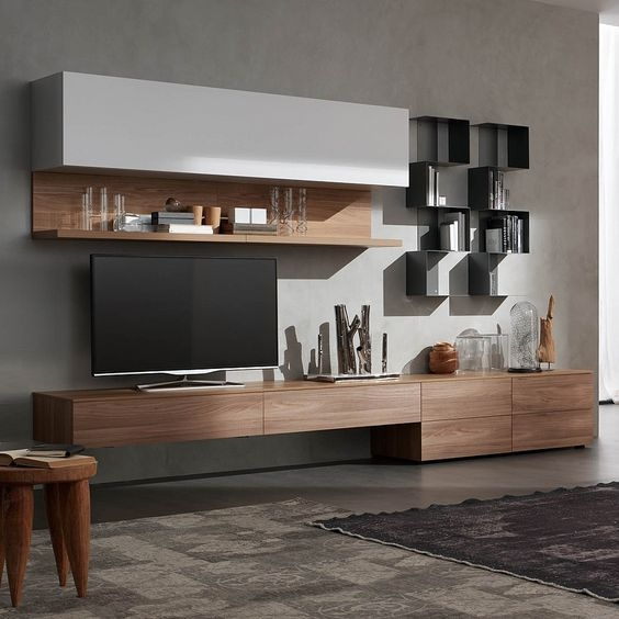 16 wood tv wall units you must see
