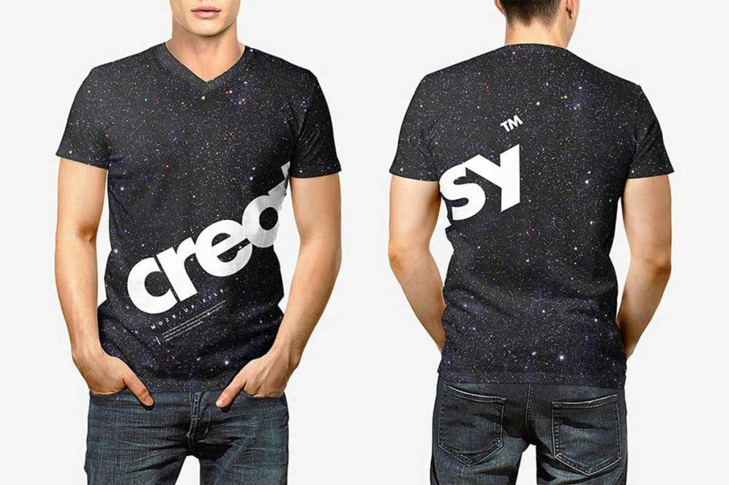 39 awesome black t shirt mockups for your apparel business