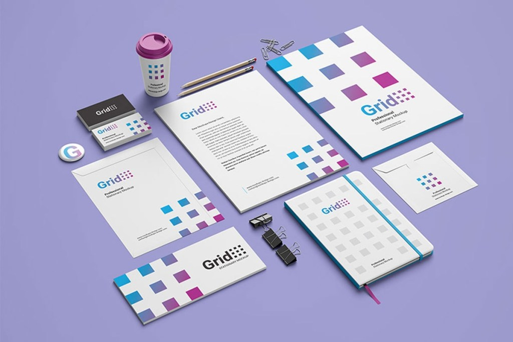 39 awesome stationery mockups for professional branding 2020