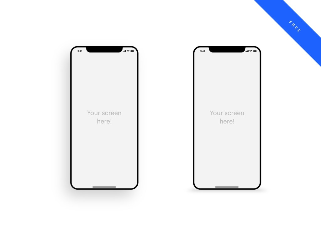 40 best free iphone mockups of 2019 free mockups best
