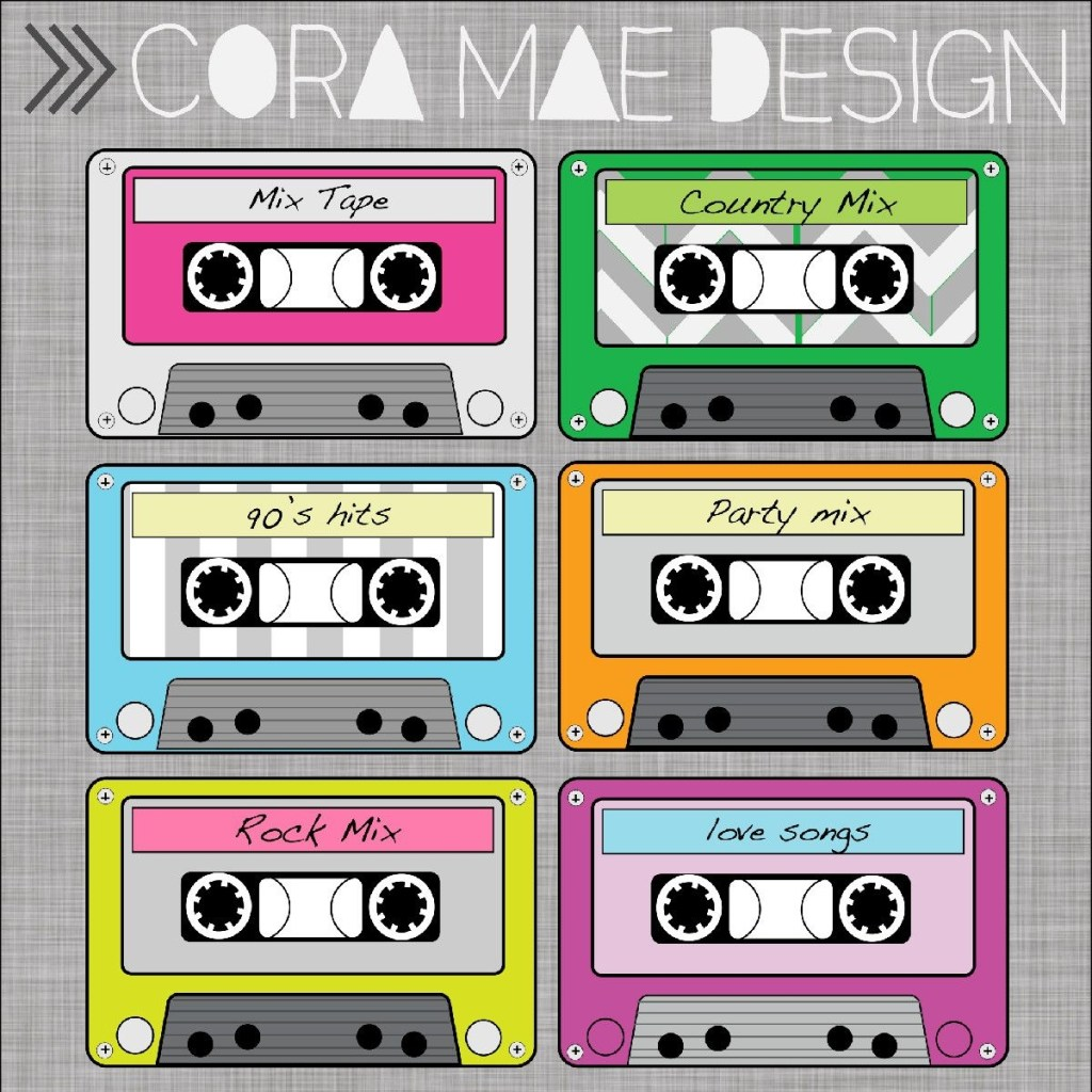 cassette tape clipart party invite template clip art