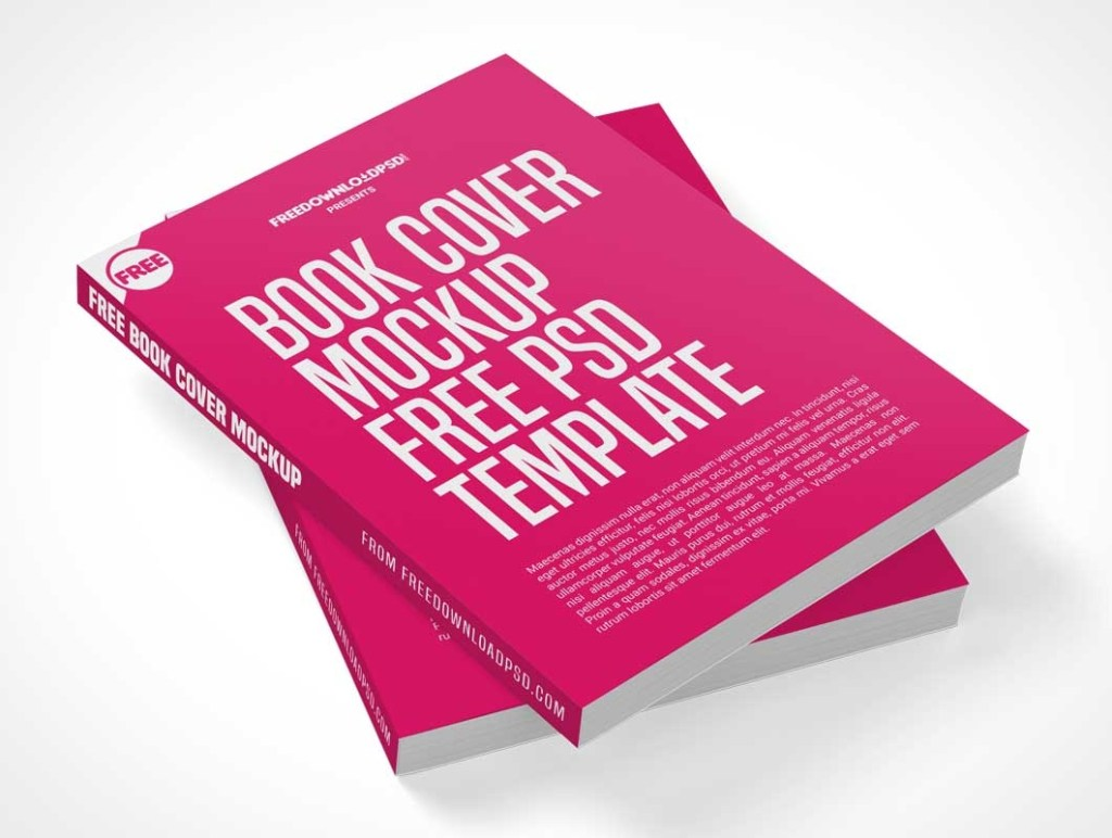 dual softcover books stacked psd mockup psd mockups