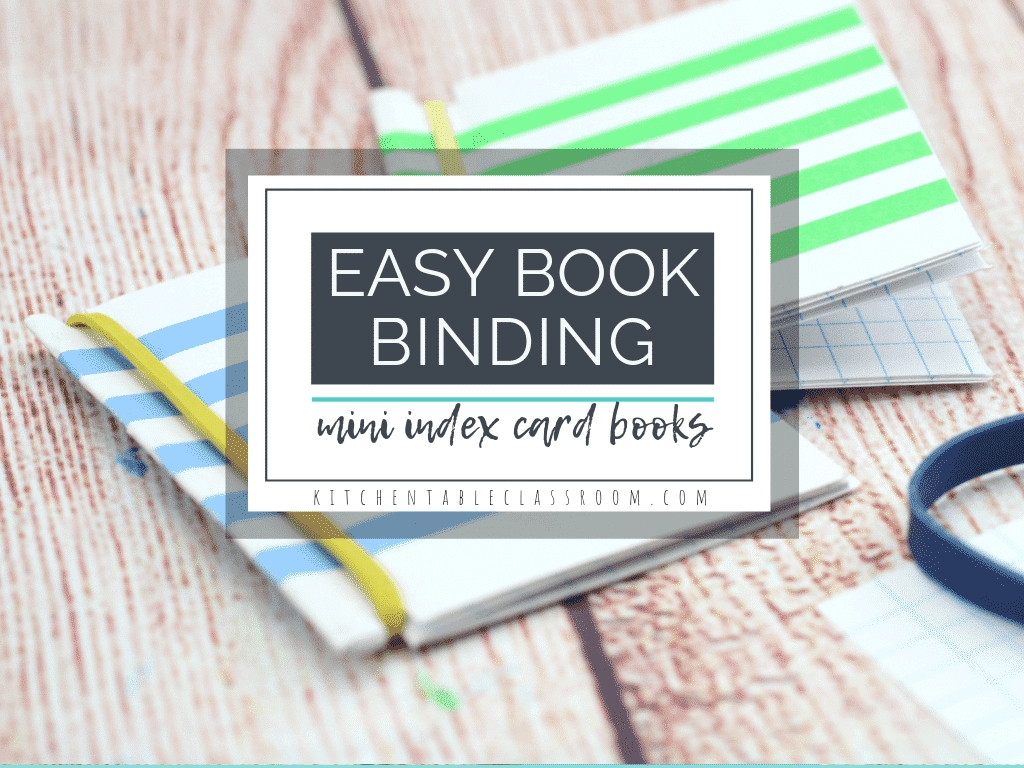 easy bookbinding for kids how to make three different