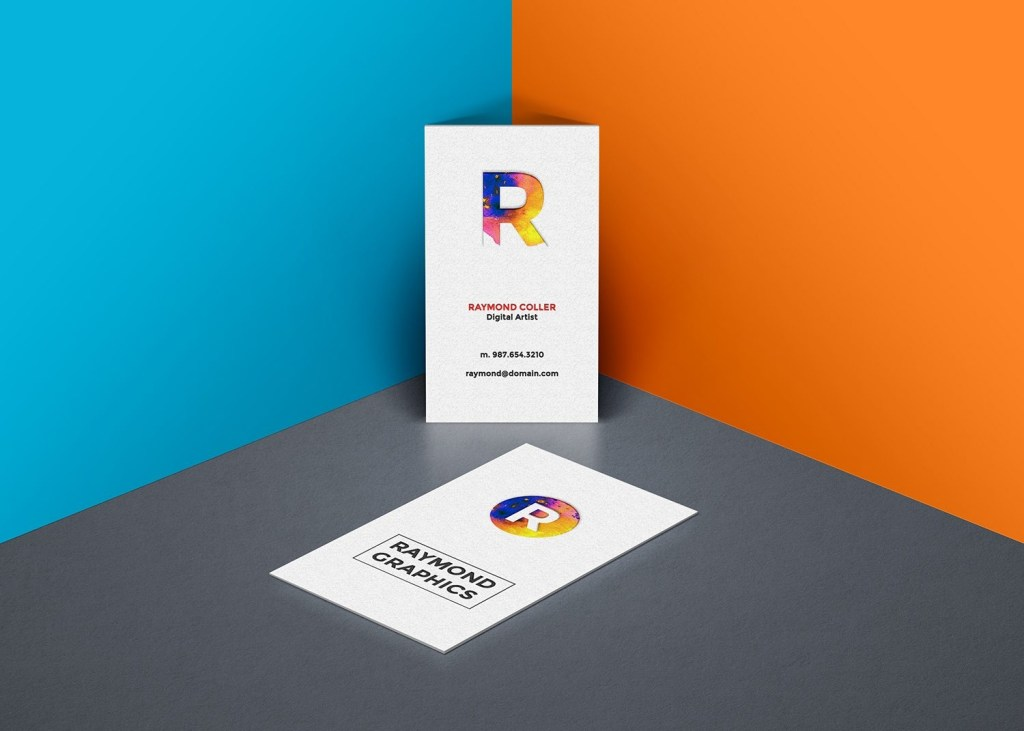 free business card mockup psd template best free mockups