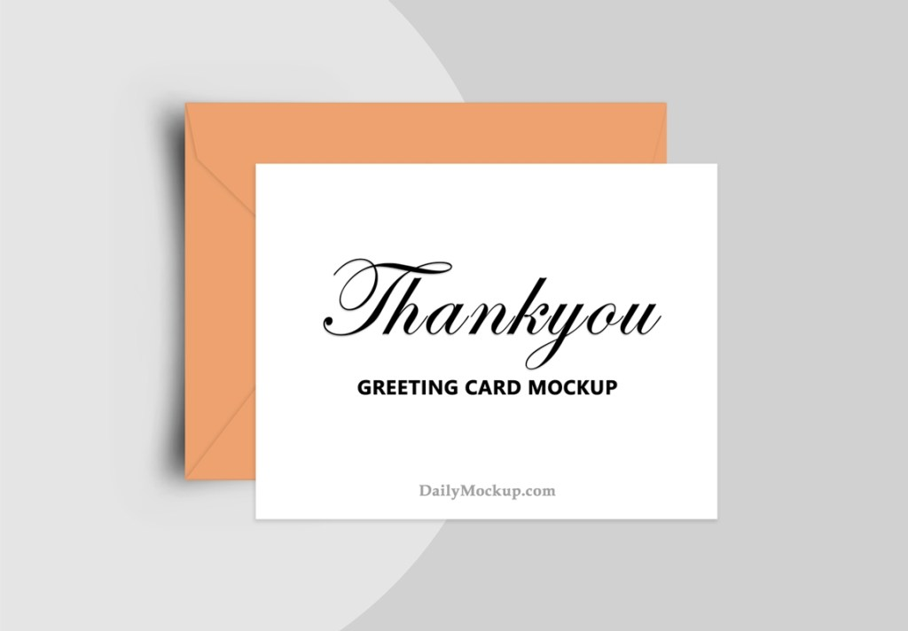 greeting card mockup free psd 2021 daily mockup