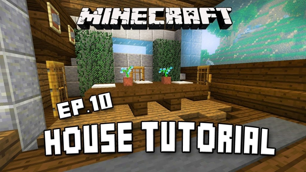 how to make dining room furniture in minecraft scarland