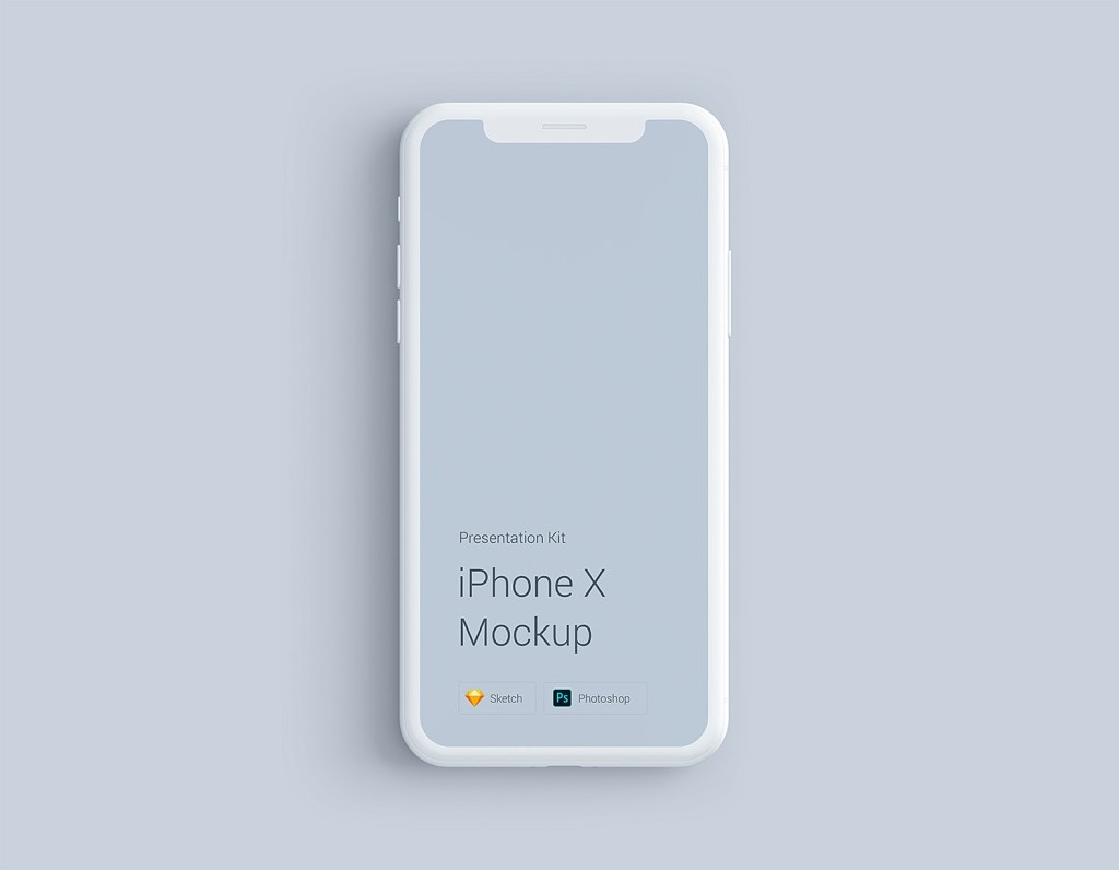 iphone x clay mockup psd best free mockups