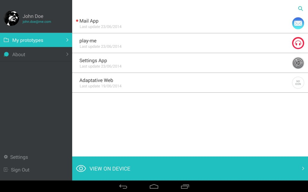justinmind for android apk download