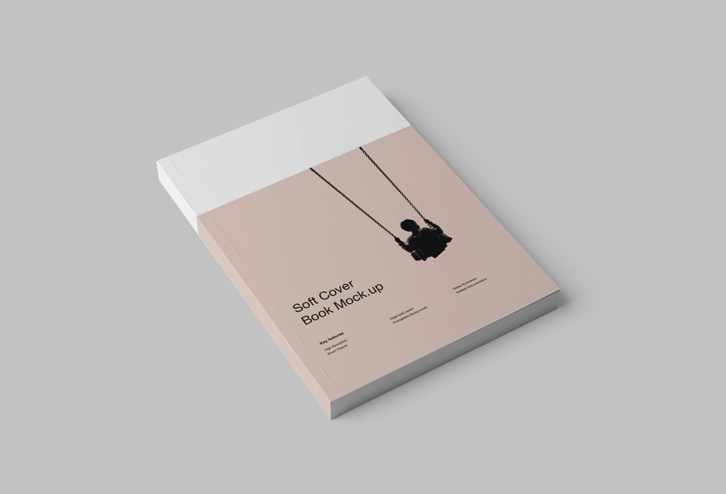 softcover book mockup psd on behance