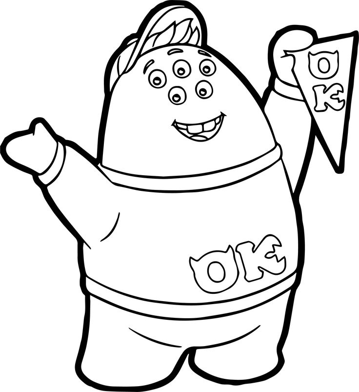 Kawaii Squishy Coloring Pages