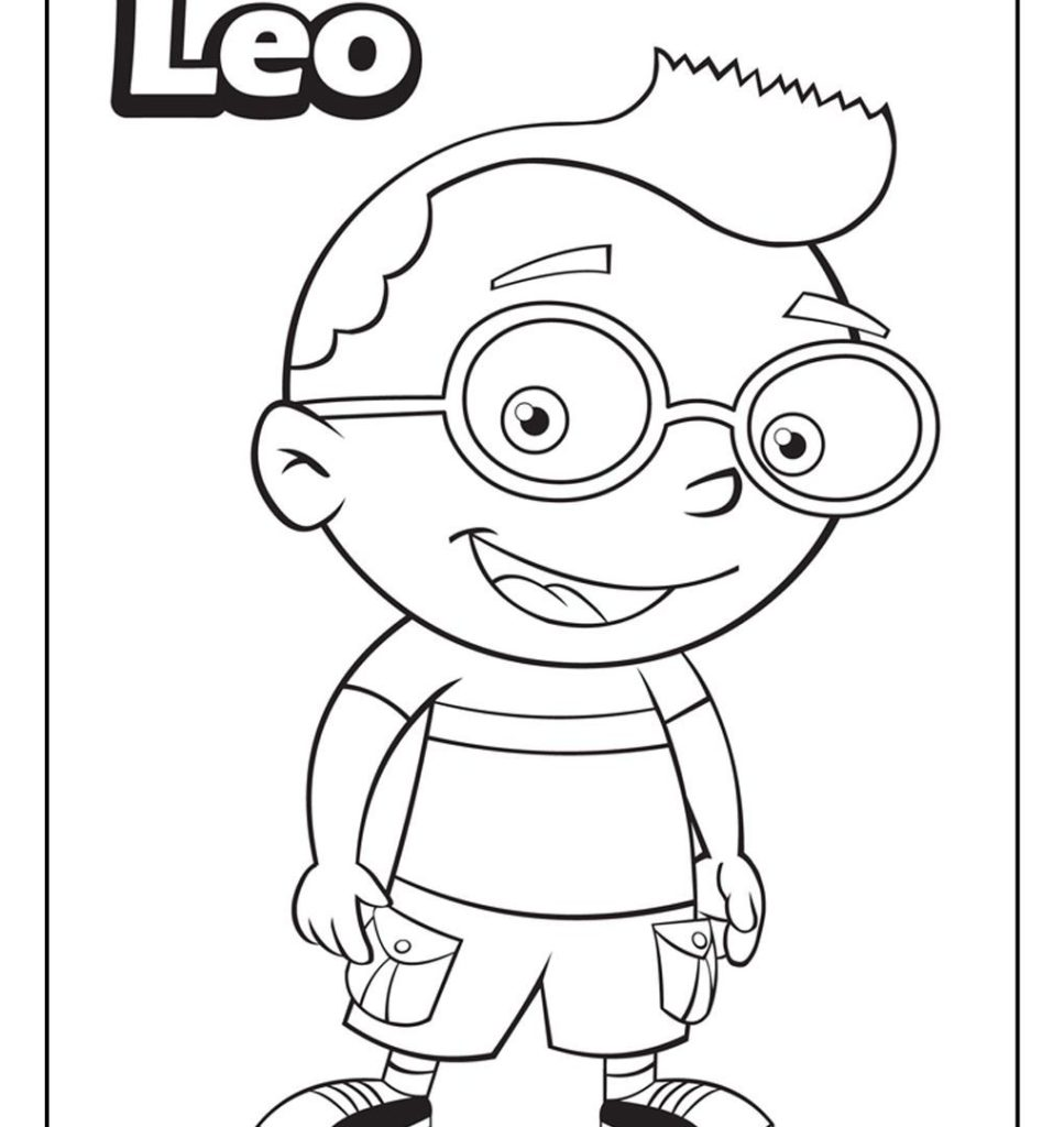 Little Einsteins Coloring Pages Idea