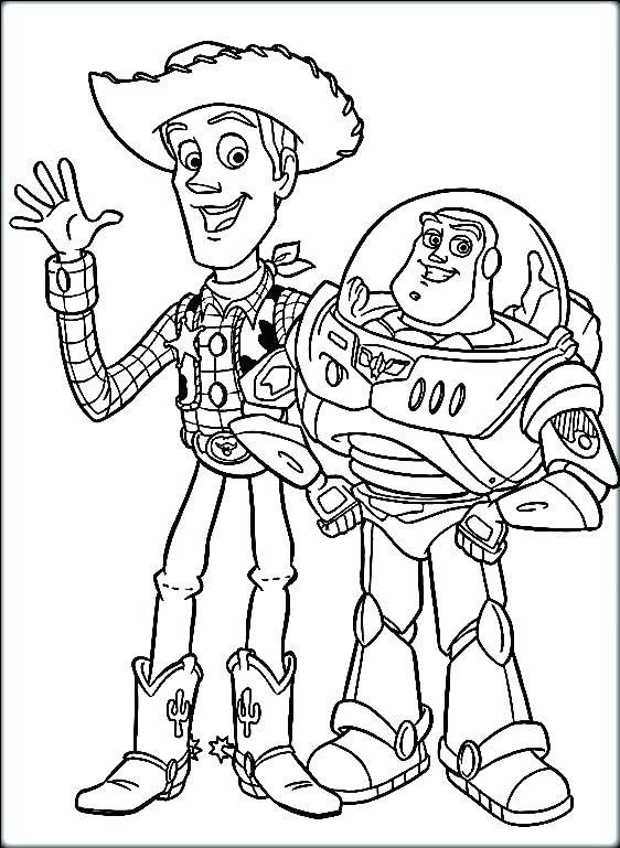 Toy Story 4 Coloring Pages Forky