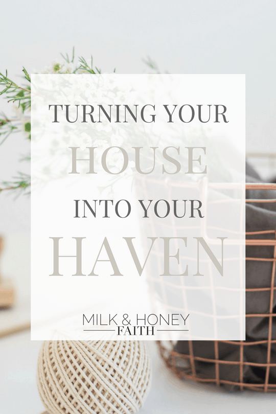 I go over small steps you can take to turn your house into your safe haven / Christian Decorating / Faith Decor / Biblical Influences in the home.