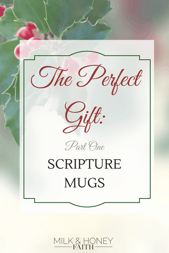 Come and see part one of the perfect gift series to put a dent in that Christmas List. These are the perfect gifts for your friends in the faith.