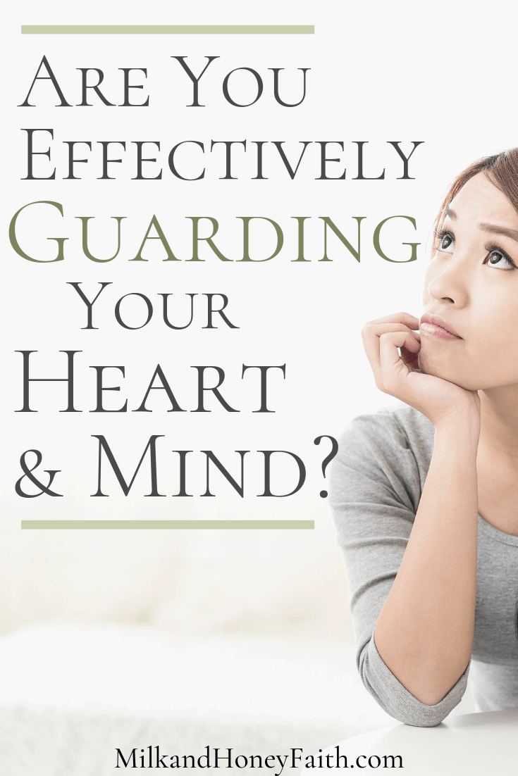 The Importance of Guarding Your Heart and Mind - Milk and