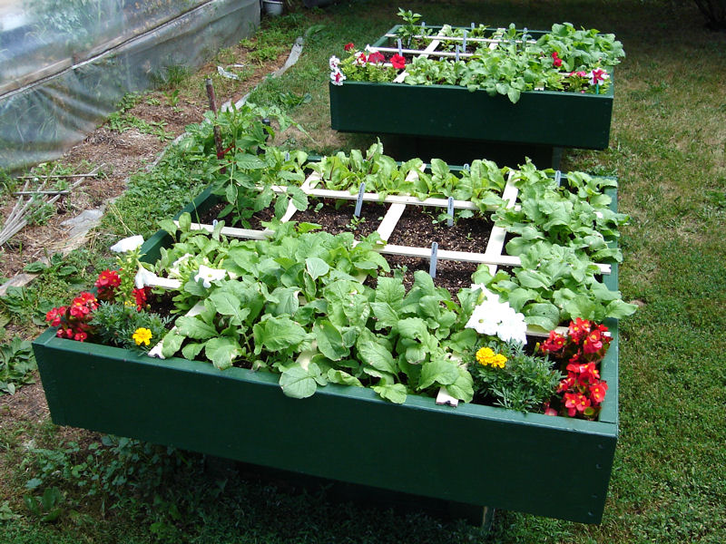 Raised Square Foot Garden Plans