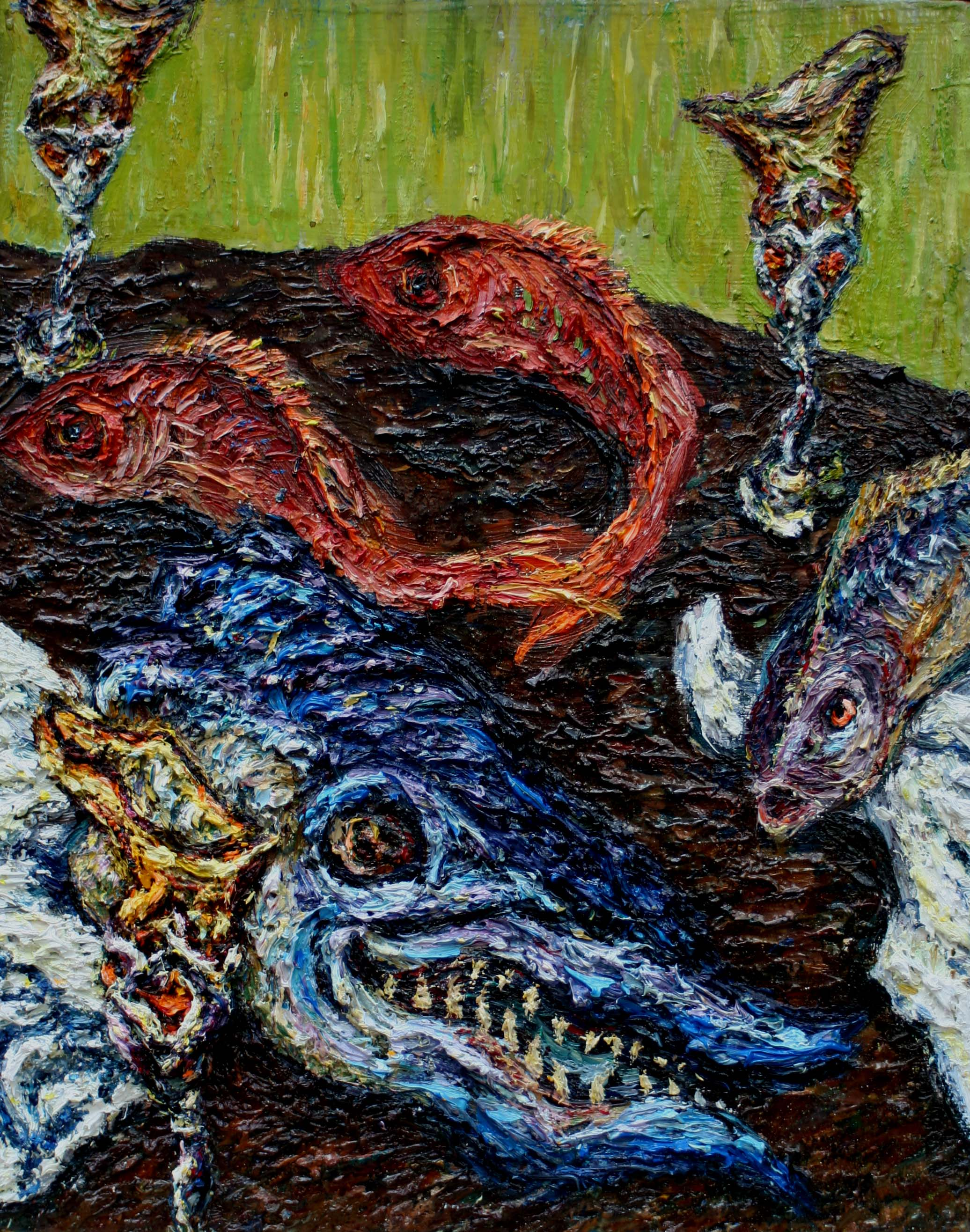 08-Dining-Table-16×12-oil-on-canvas-1994.